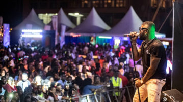 Skales Delivers A Thriller In Kampala At The Blankets & Wines (B & W) Experience