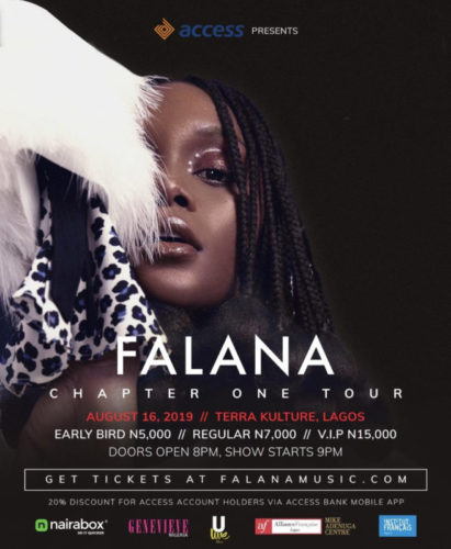 Falana Chapter One Concert Tour Starts Tomorrow In Lagos!!!