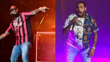 BREAKING!! Chris Brown Brought Out Davido At The New York Stop Of His Indigo Tour