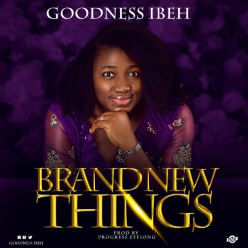 download Goodness Ibeh - 'Brand New Things' (SONG)
