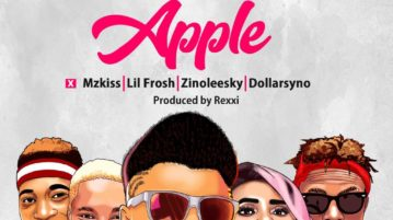 ICE-K ArtQuake - Apple [Official Video] ft. Mz Kiss, Lil Frosh, Zinoleesky, Dollarsyno