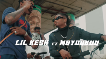 Lil Kesh feat. Mayorkun - 'Nkan Be' (VIDEO)