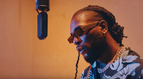 "Watch Burna Boy - ""Anybody"" Live Session (VIDEO)"