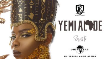 BREAKING NEWS: Singer Yemi Alade Signs Licensing Deal with Universal Music