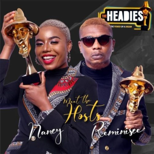 BREAKING!! Nancy Isime & Rapper, Reminisce Announced as Hosts for #Headies2019