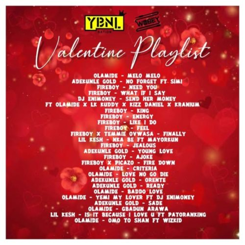 download DJ Enimoney - Valentine's Playlist