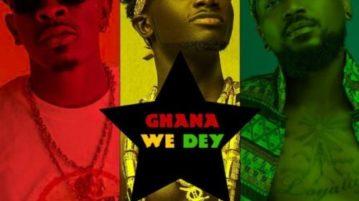 Kuami Eugene - Ghana We Dey ft. Shatta Wale, Samini