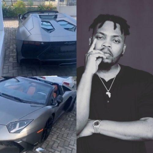 Check out Olamide's new Lamborghini Aventador worth over N200 million -  NaijaMusic